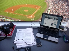 Nationals Park Press Box