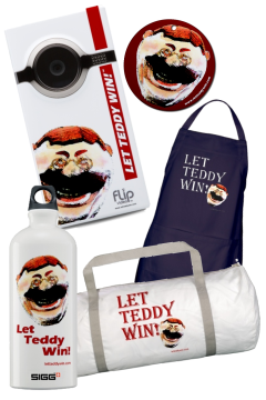 Teddy Roosevelt Gift Items at LetTeddyWin.com