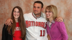 Ryan Zimmerman at NatsFest, photo by Eve Roytshteyn MLB.com