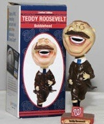 Teddy Roosevelt Bobblehead Doll