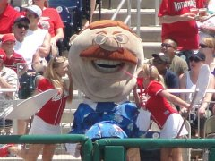 Fathers Day at Nationals Park, by Joan Jankowski