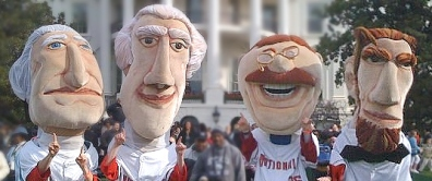 The Washington Nationals Racing Presidents