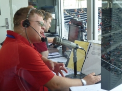 Washington Nationals PA Announcer Jerome Hruska