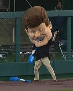Washington Nationals presidents race introduces JFK