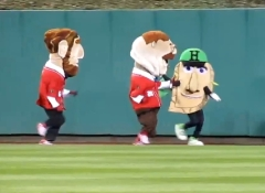 Pittsburgh Racing Pierogies vs Washington Racing Presidents at PNC Park