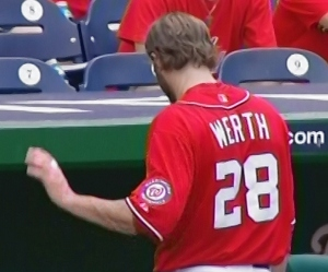 Jayson Werth disgusted that Teddy never wins the Presidents Race