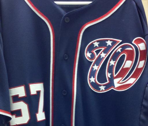 Nationals Uniform 67