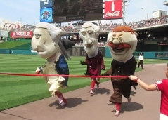 Washington Nationals Presidents Race 5-29-11