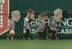Presidents race in Anaheim - Teddy on Tricycle