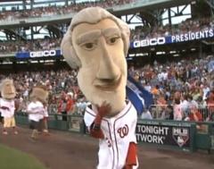Thomas Jefferson as John Cena - You Cant See Me!