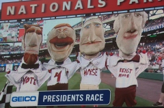 Washington Nationals Racing Presidents Vote for Michael Morse