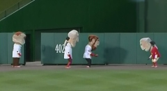 Washington Nationals Racing Presidents - Football Game