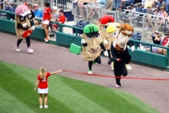 Washington Nationals Presidents Race