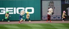 Presidents Race vs Pierogies - Nationals