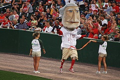 Washington Nationals Racing Presidents - Atlantic League All Star Game