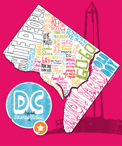 DC Stereotype Map - from LivingSocial's Social Studies DC blog
