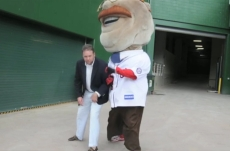 Nationals Park Marriage Proposal - Matt challenges Teddy Roosevelt