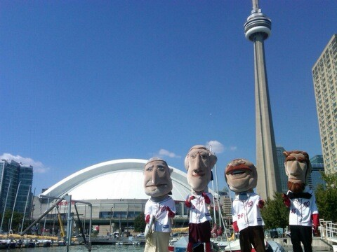 Nationals Racing Presidents on the Road - Toronto