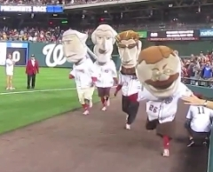 Teddy Roosevelt almost wins the presidents race