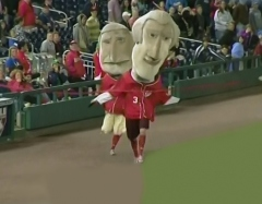 Thomas Jefferson wins extra-innings presidents race at Nationals Park