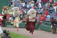 Thomas Jefferson washington nationals presidents race