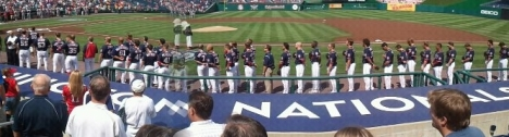 The Washington Nationals on 9/11 Remembrance Day