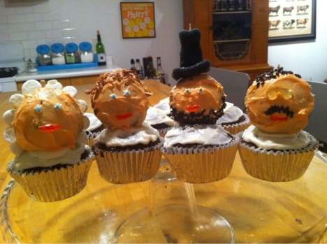 President cupcakes - baked by Laura Leu