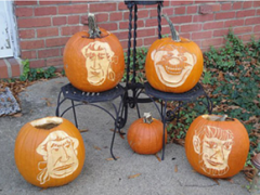 Racing President Pumpkins - Nationals Pumpkin Contest