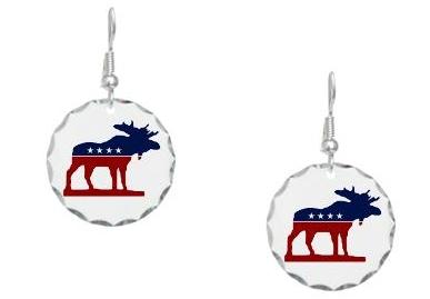 Bull Moose Earrings