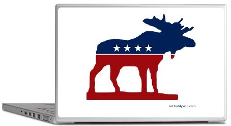Bull Moose Laptop Skin