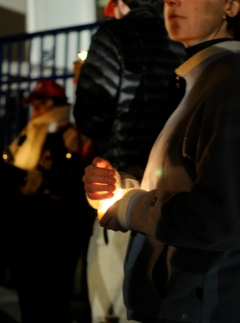 Vigil for Wilson Ramos at Nationals Park