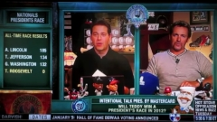 Intentional Talk - Chris Rose & Kevin Millar issue presidents race prediction