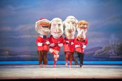 The Nationals Racing Presidents appear in The Washington Ballet production of The Nutcracker - by Theo Kossenas Photography