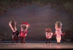 Racing Presidents in The Nutcracker