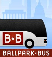 Ballpark Bus to Nationals Park - Logo
