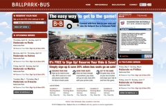 Ballpark Bus to Nationals Park Website ballparkbus.com