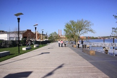 Anacostia River Walk near Nationals Park