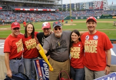 Chicken Mode T-Shirts at Nationals Park