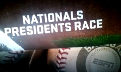 ESPN - Nationals Presidents Race