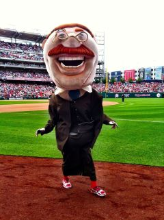 Nationals racing president Teddy Roosevelt  - Photo by Luis Albisu