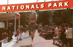 Nationals racing presidents at the Pentagon