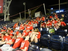 Hillwood Middle School Nationals Park extra innings sleep asleep