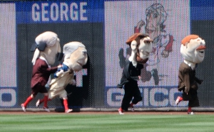 Nationals Presidents Race Thomas Jefferson Cheats
