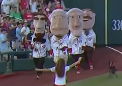 Washington Nationals Presidents Race Nationals Park