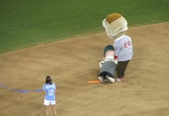 Teddy Roosevelt race at the All Star Game HR Derby