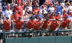 Presidents Race Grounds Crew with Popsicles
