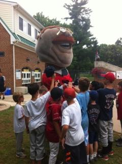 Teddy Roosevelt at Go Big Train Baseball Camp