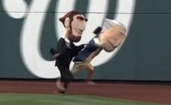 Washington Nationals Presidents Race Abe Lincoln Cheats