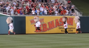 Nationals racing presidents Olympic rhythmic gymnastics Teddy gets air