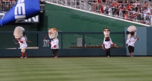 Nationals racing presidents Olympic rhythmic gymnastics